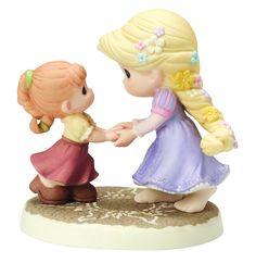 "Precious Moments ""We Go Hand-in-Hand"" Rapunzel Figurine"