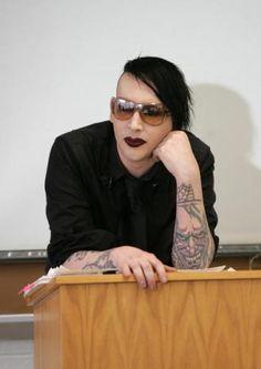 Marilyn Manson #tatts #ink #tattoo