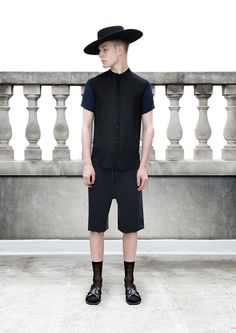 The photo that made me start my search for wide brinmed hats. Domingo Rodriguez Spring/Summer 2014