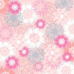 download the pink and flowery background paper free printable sheet