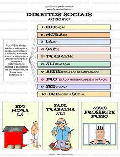 DIREITOS SOCIAIS - ARTIGO 6° CF