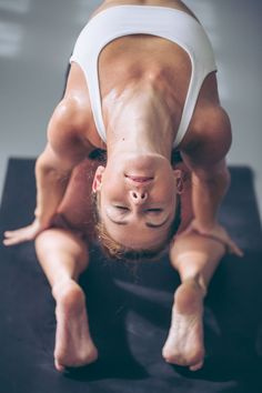 """""""I love that yoga is introspective & ego-less. When I am practicing I feel strong, centered, graceful & connected."""""""