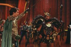 Prince Barin (Timothy Dalton) and Prince Vultan (Brian Blessed) - Flash Gordon Flash Gordon, Brian Blessed, Timothy Dalton, Famous Stars, Universal Pictures, New York Jets, British Actors, James Bond, Comic Strips