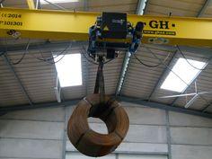 Primera instalación del Polipasto GHA12. Nantes