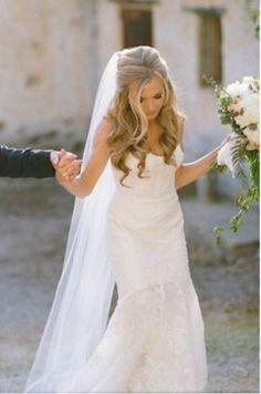 Cathedral Veil Bridal Veil Wedding Veil by WildestDreamsBridal