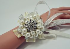 Наручные браслеты из цветов невеста невесты свадебное платье с жемчугом Хрустальный цветок разделе - глобальная станция Taobao