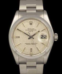 Linen Dial vintage rolex....vintage watch company