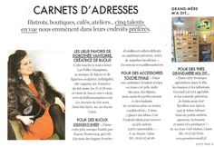Les Folles Marquises dans le magazine Elle (édition Lille) du 25 avril 2014. #elle #magazine