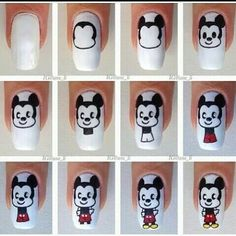 Famous Navy Nail Art Small Nail Art Kit For Kids Square What Color Nail Polish Is In Right Now Nail Art Christmas Ideas Old Nail Art Machine In Pakistan PurpleSimple Nail Art Designs For Short Nails Videos Mickey Mouse Nail Art Tutorial | Nail Art Ideas | Pinterest | Nail ..