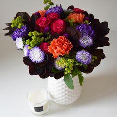 Le bouquet Baroque #bouquet #fleurs #flowers #flowersdelivery