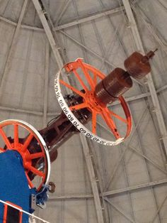 The big telescope.