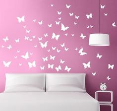 FARFALLE IN VOLO adesivo murale 39 € MADE IN ITALY