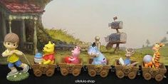 Precious Moments Winnie the Pooh Disney Train
