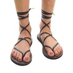 Sseko Designs | Black spaghetti strap sandals