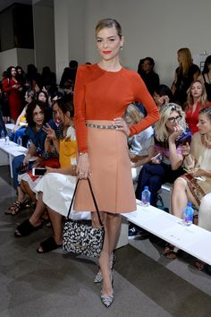 Jaime King Photos - Actress Jaime King attends the Jason Wu fashion show during Spring 2016 New York Fashion Week at Spring Studios on September 2015 in New York City. - Jason Wu - Front Row - Spring 2016 New York Fashion Week Jaime King, Fashion Week 2015, New York Fashion, Fashion Trends, Fashion Finder, Fashion Weeks, Celebrity Red Carpet, Celebrity Look, Celeb Style