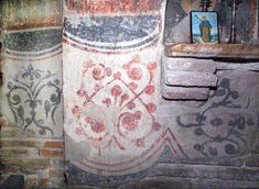 s2-e1e4-37.jpg 1,200×879 pixels. Ornament.on the right section of the north wall ( base, inside the closed off door). Gracanica.