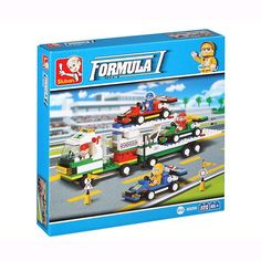 Formula 1 Building Game (428 pieces)