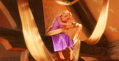 Community: 20 Disney Characters That Would Be Perfect For Reality TV. This show is all about hair and style. No one has more experience dealing with a lot of hair than Rapunzel. Will Turner, Pixar, Disney Princess Facts, Hair Gif, Disney Tangled, Tangled Hair, Reality Tv, Beauty And The Beast, Your Hair