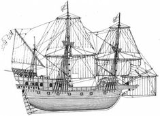 galleon ship | ... Ships > Ships (Other) > SS The Golden Hind [Sir Francis Drake Galleon