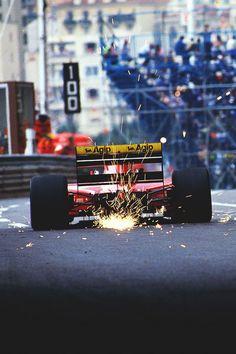 Alain Prost - Ferrari 641 - Monaco Grand Prix 1990 km Escuderias F1, Gp F1, F1 Wallpaper Hd, Wallpapers, Nascar, Alain Prost, Monaco Grand Prix, Formula 1 Car, F1 Racing