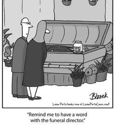 Mortuary Humor Funeral Sample Resume El Cartoon Funny Coloring Books
