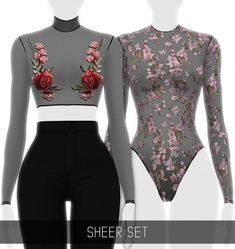 Simpliciaty - Sheer Set for The Sims 4 Source by dresses outfit The Sims 4 Pack, Sims 4 Cc Packs, Sims 4 Mm Cc, Sims Four, Mods Sims 4, Sims 4 Mods Clothes, Sims 4 Clothing, Clothing Sets, Sims 4 Black Hair