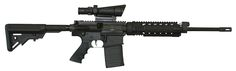 ArmaLite is pleased to bring shooters the AR-10A Super SASS as a carbine. Like its rifle-length brother, the AR-10A SASS Carbine accepts 3rd party polymer magazines. It is a lighter weight, versatile