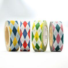 Argyle Washi Tape