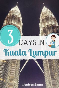 Kuala Lumpur is an interesting and vibrant city where it is impossible to get bored. Find out what to fit in if you've only got a short time in the capital of Malaysia.