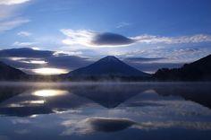 Fuji-san (Mt. Fuji), Japan's iconic mountain...