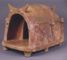Model of Sanctuary ~ 5 millennium B.C. ~ Culture of Trypillya (Aratta). Territory of Ukraine in present day.