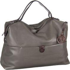 Marc O´Polo Handbag L Soft Natural Cow Light Oliv - Handtasche