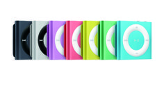 iPod shuffle- small but big on music.