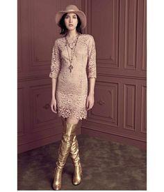 We can't get enough lace @nenette_official  for a fun feminine look. #boutiquegnisci #FW16 #Locorotondo #feminine #femininelook #lacedress Scopri i nuovi arrivi anche sul nostro sito www.boutiquegnisci.comi