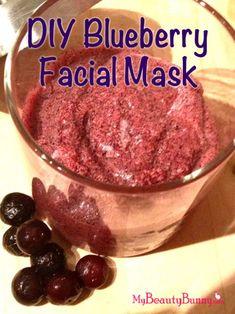 DIY Blueberry Mask