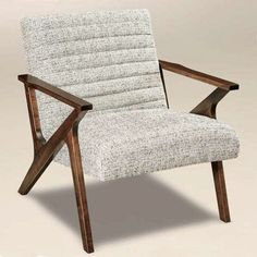 Amish Siesta Mid Century Modern Lounge Chair Rely on comfort, trust the durability and enjoy customizing Siesta chairs built by hand in Amish country. Choice of wood, stain and upholstery. #midcenturymodern