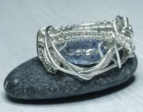 Sterling silver by Isabela Harsenie, via Behance
