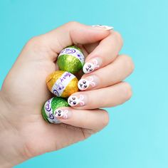 The cutest Easter nail art you'll ever see!