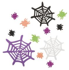 Foamies Spider & Web Stickers (40) $2.75
