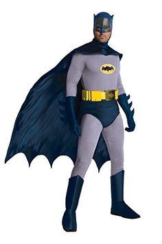 d659ea010 Batman Classic 1966 Grand Heritage Batman Adult Costume - Standard (One -Size)
