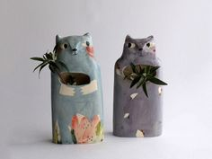 These cheeky (and very nicely made) ceramics from France are a bit splendid to look at.