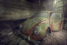 vw bug Barn find