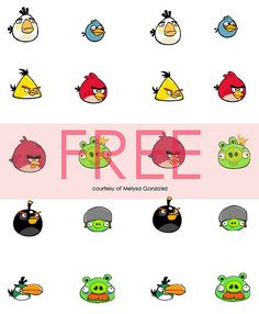 Angry Birds Party Ideas & Freebies.  @Stacey Phelan here is another site to check