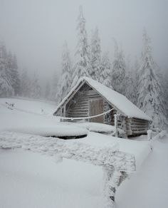 I would love to be stuck out here with a roaring fire, food, and maybe a good book...naw change that to a guy!