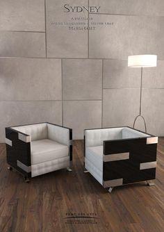 Sydney Armchair - Designer MONZER Hammoud - Pont des Arts Studio - Paris
