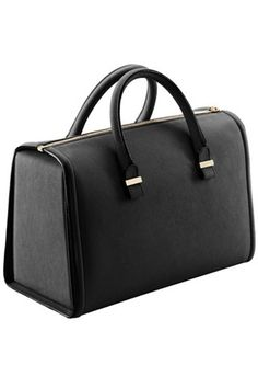 Victoria Beckham Tote Mini in Black Buffalo as seen on Victoria Beckham