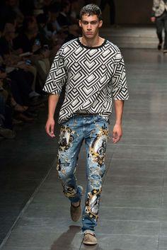 Dolce & Gabbana Spring 2016 Menswear Fashion Show - Alessio Pozzi