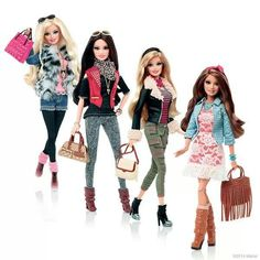 Barbie styles