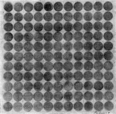 Eva Hesse Untitled, 1967 Brown ink with wash and pencil 280 x 280 mm