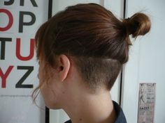 kinglouisiii: here have a pic of my undercut from a year ago - New Hair Design Undercut Hair Designs, Undercut Women, Undercut Hairstyles Women, Hairstyles Haircuts, Shaved Hairstyles, Pixie Haircuts, Shaved Undercut, Short Hair Undercut, Short Hair Cuts